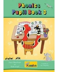 Jolly Phonics. Pupil Book 3 (in Precursive Letters)