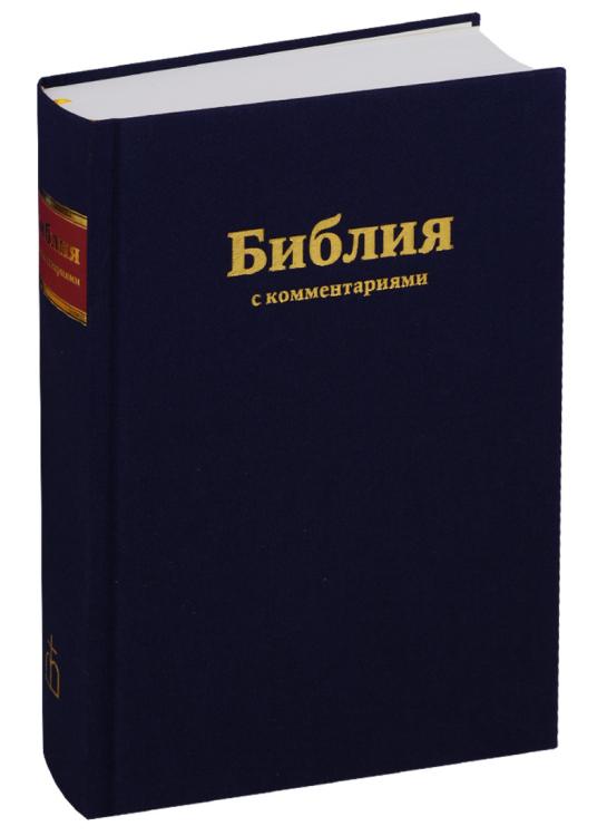 Библия (1253)073DCTI с комментариями