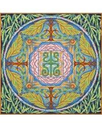 """Набор для вышивания крестом Panna """"Мандала. Здоровье"""", 35х35 см, арт. SO-1856"""