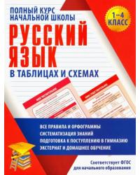 Русский язык. Полный курс начальной школы в таблицах и схемах
