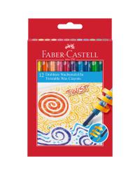 """Карандаши восковые """"Faber-Castell"""", 12 цветов"""