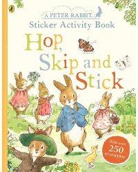 Hop, Skip and Stick. Sticker Activity Book