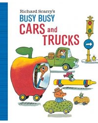Busy Busy Cars and Trucks (Board book)