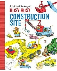 Busy Busy Construction Site (Board book)