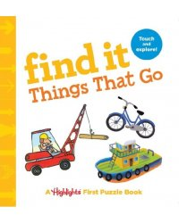 Find It Things That Go. Board book