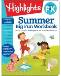 Summer Big Fun. Workbook. Bridging Grades P & K