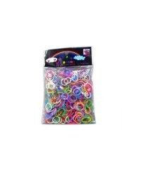 """Набор для творчества """"Цветные резиночки"""", 300 штук"""