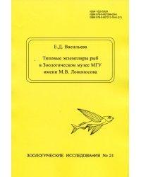 Типовые экземпляры рыб в Зоологическом музее МГУ имени М.В. Ломоносова