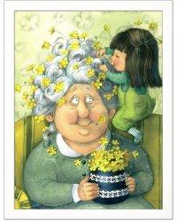 """Постер в раме """"Вот какая бабушка!"""""""