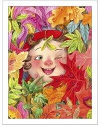 """Постер в раме """"Разноцветная осень"""""""