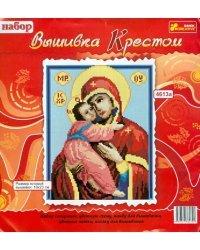 """Вышивка крестом """"Икона Владимирской Богоматери"""""""