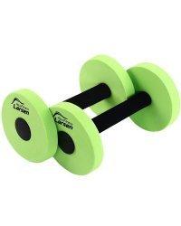 """Аквагантель """"Larsen. Aqua Fitness"""" (2 штуки), малой сопротивляемости, зелёные"""