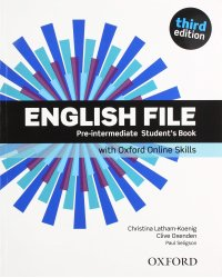English File. Pre-Intermediate: Student's Book with Oxford Online Skills