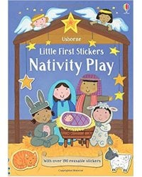 Little First Stickers: Nativity Play
