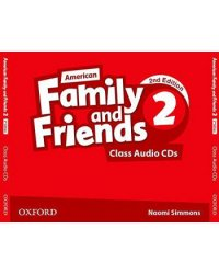 Audio CD. Family and Friends American 2