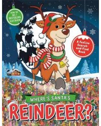 Where's Santa's Reindeer? A Festive Search-and-Find Book