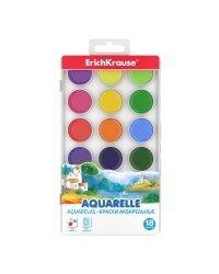 Краски акварельные, 18 цветов