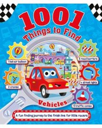 1001 Things to Find. Vehicles