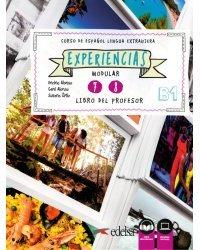 Experiencias 7-8: Libro del profesor В1 + Audio descargable