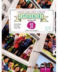 Experiencias: Libro del alumno 10 (В1) + audio descargable