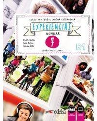 Experiencias: Libro del alumno 7 (В1) + audio descargable
