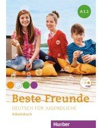 Beste Freunde. Paket Arbeitsbuch A1.1 und A1.2 mit CD und CD-ROM (+ Audio CD)