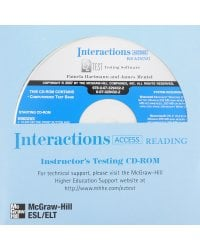 CD-ROM. Interactions Access Reading/Writing EZ Test Generator 2007
