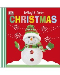 Baby's First Christmas. Board Book