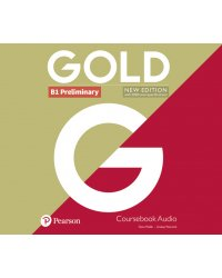 Audio CD. Gold Preliminary B1 Coursebook Audio CDs (количество CD дисков: 2)