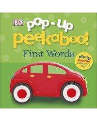 Pop-Up Peekaboo! First Words. Board book