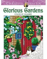 Glorious Gardens. Color by Number
