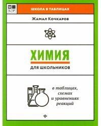 Химия для школьников в таблицах, схемах и уравнениях реакций. Учебное пособие