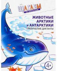 Животные Арктики и Антарктики. Графические диктанты. Для детей 4—6 лет