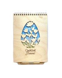 """Блокнот с карандашом """"Светлой Пасхи"""", 21х14,8 см, 40 листов"""