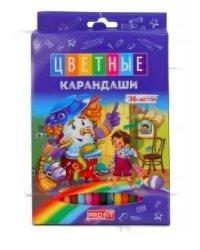"""Карандаши цветные """"Волшебная история"""", 36 цветов"""