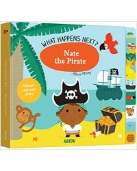 Nate the Pirate. Board book