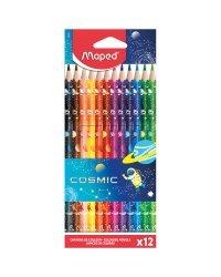 """Карандаши цветные """"Color'Peps Cosmic"""", 12 цветов"""