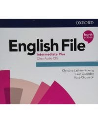 Audio CD. English File. Intermediate Plus (количество CD дисков: 5)