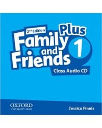 Audio CD. Family and Friends 1 Plus