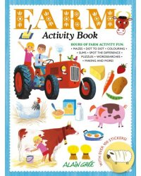 Farm. Activity Book