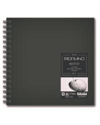 """Блокнот для зарисовок """"Sketchbook"""", мелкое зерно, 300x300 мм, 80 листов, спираль"""