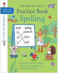 Spelling Practice Book - Age 7 to 8 English