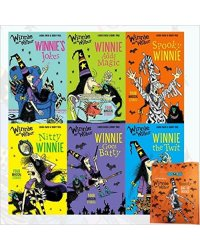Winnie and Wilbur Collection 6 Books Bundle With Bag