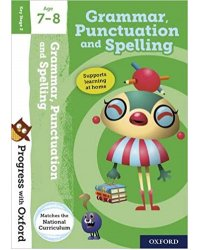 Progress with Oxford: Grammar and Punctuation Age 7-8 with Stickers