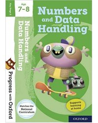 Progress with Oxford: Numbers and Data Handling Age 7-8 with Stickers