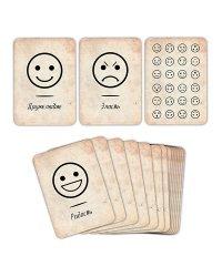 """Набор карт """"Эмоции и состояния"""", 36 штук"""