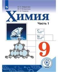 Химия. 9 класс. Учебник. В 2-х частях. Часть 1 (для слабовидящих обучающихся)