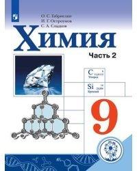 Химия. 9 класс. Учебник. В 2-х частях. Часть 2 (для слабовидящих обучающихся)
