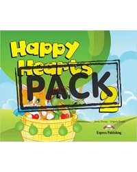 Happy Hearts 2 with Stickers, Pressouts, Extra Optional Units