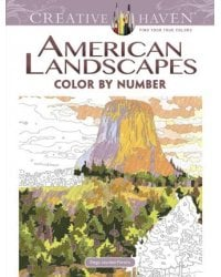 American Landscapes. Color by Number